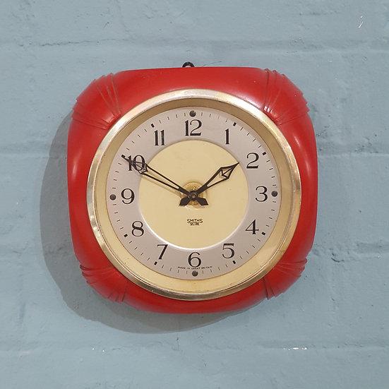 666- Smiths Retro Wall Clock
