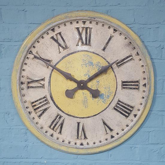 574 - Yellow Turret Clock.
