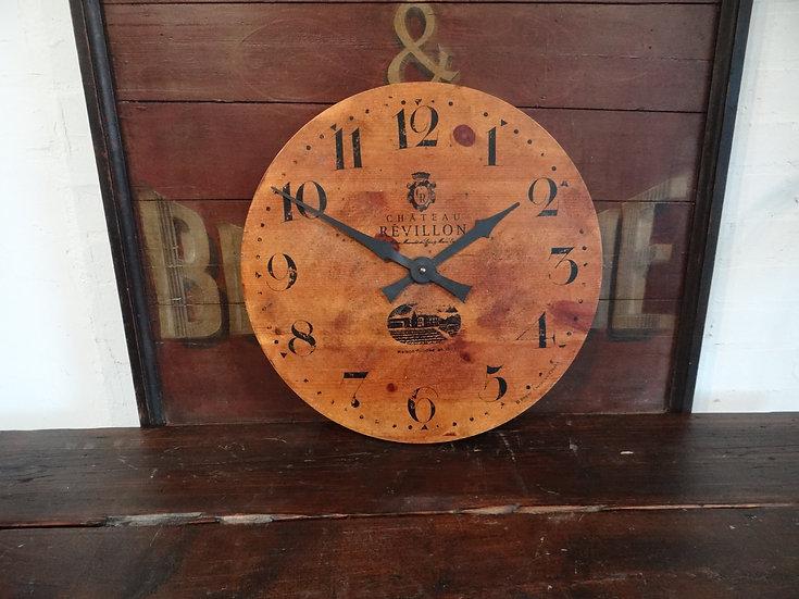 515-Pine Wall Clock