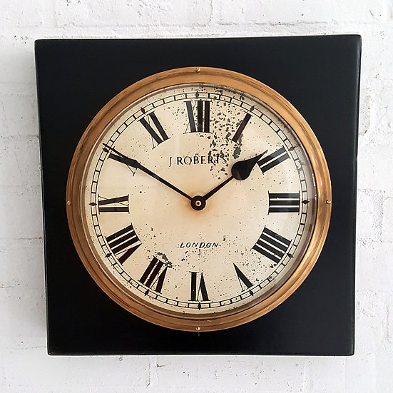 521- J Robert Cased Clock
