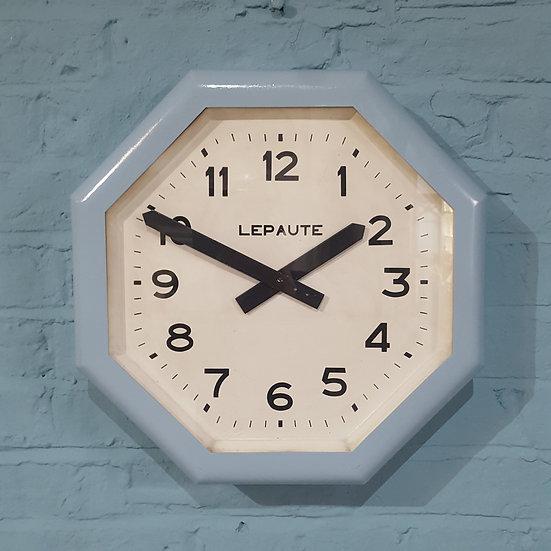 653-French Art Deco Wall Clock