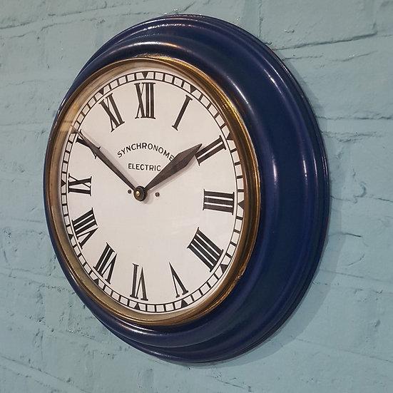 551 - Enamel Cased Wall Clock