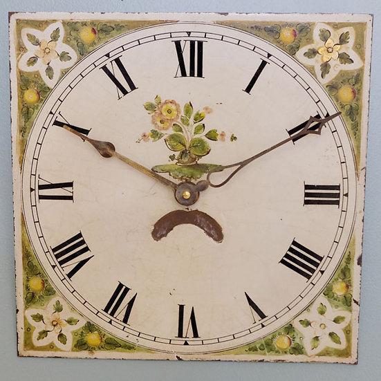 026-19th Century Square Clock Dial