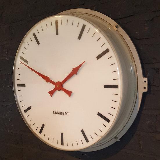 594 - LAMBERT WALL CLOCK