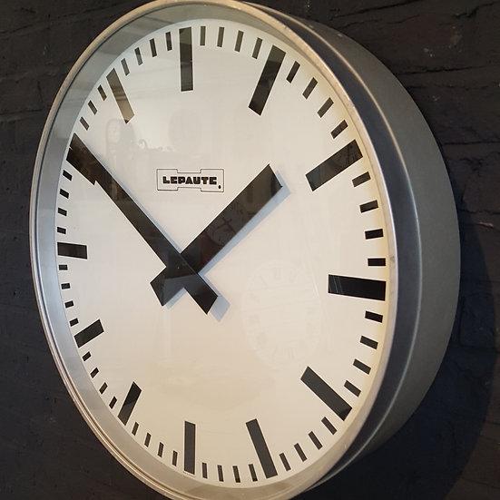 597 - LARGE LEPAUTE WALL CLOCK
