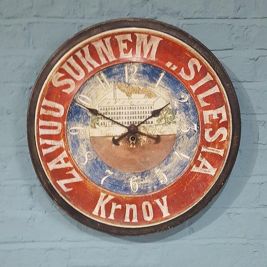 650-Rare 1930's tin clock