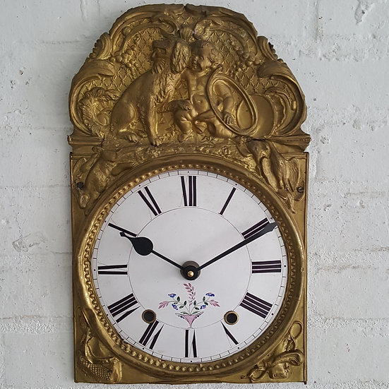 523-19th Century French Clock Face.