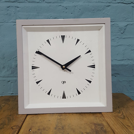 680 - French Mid-Century Table/Wall Clock
