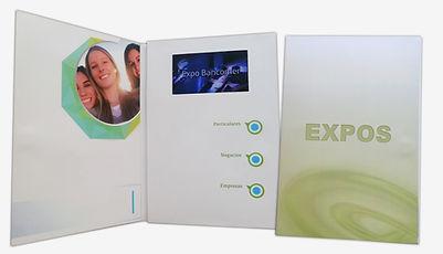 Brochure Multimedia para Expos
