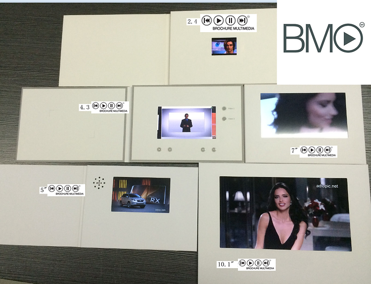 Brochure Multimedia pantallas Video Brochure