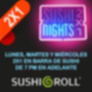 Cupones en linea Sushi Roll