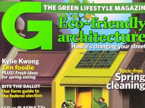 Australia's #1 Green Magazine to Go Monthly