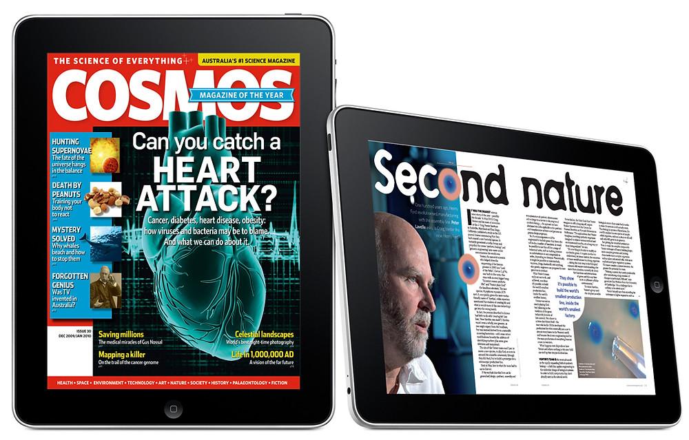 COSMOS iPad edition