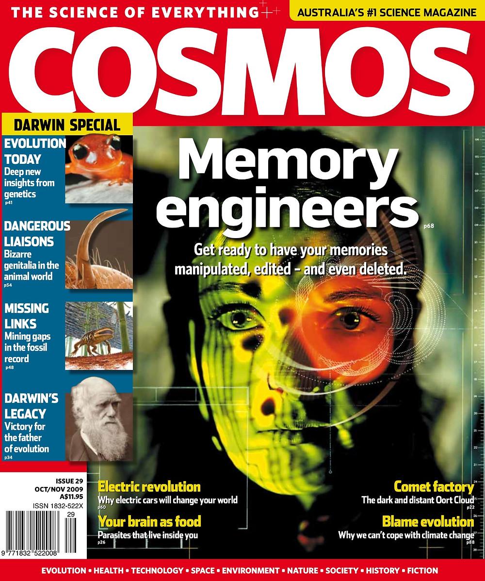 COSMOS October 2009 issue