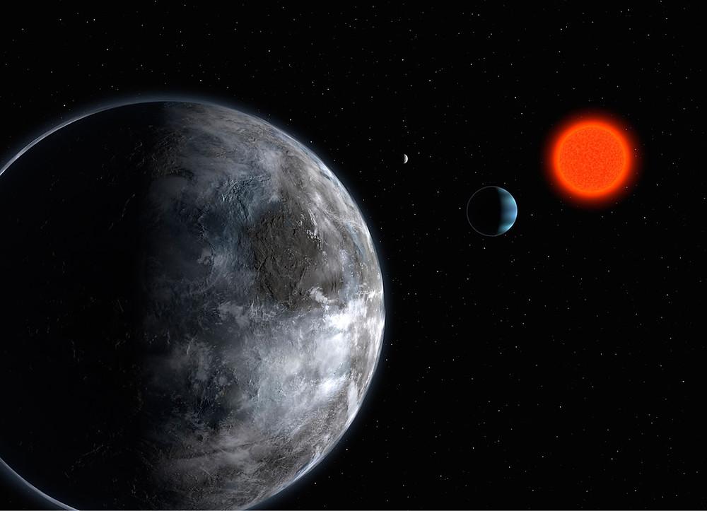 Superjorden Gliese 581d