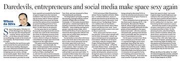 SMH_Daredevils, entrepreneurs and social