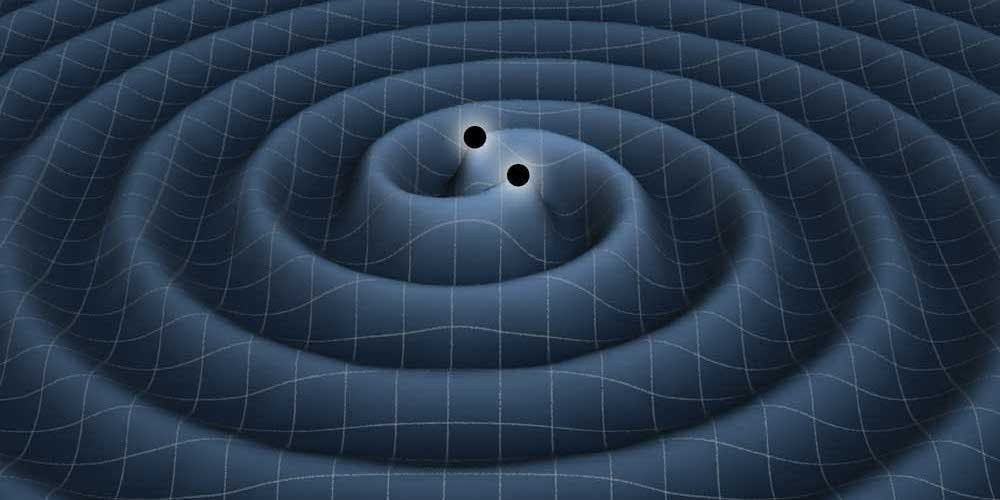 """A scene from the award-winning""""The Search for Gravity Waves"""", one of the 600 stories researched by Joy Mitchell."""