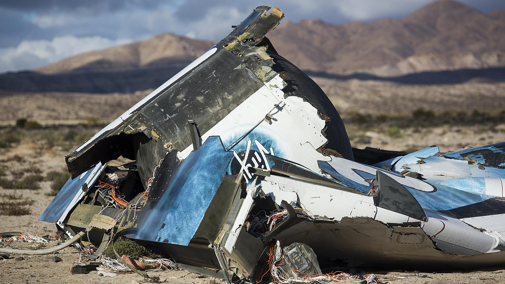 SpaceShipTwo crashed in the Mojave Desert in California on October 31, killing the co-pilot.