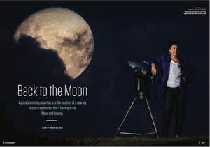The opening spread of the story in AUSTRALIAN GEOGRAPHIC's July-August 2020 edition.