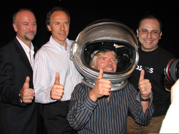 Alan Finkel and Wilson da Silva will be among the first Australian space tourists