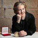 Mary O'Kane with Ada LOvelace medal 2016