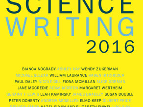 The Best Australian Science Writing 2016 edited by Jo Chandler