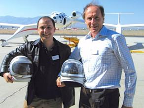 TWO OF US: Dr Alan Finkel and Wilson da Silva