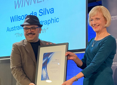 Wilson da Silva Named 2020 Higher Education Journalist of the Year