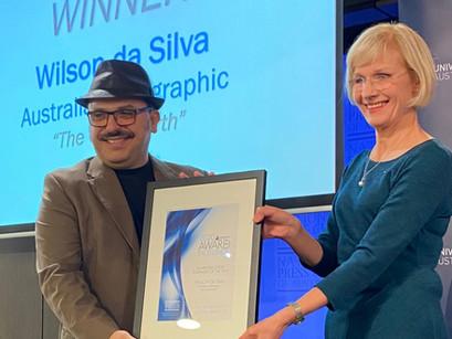 Wilson da Silva Named 2020 Higher Education Journalist of the Year