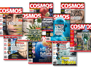 Cosmos Goes Against the Grain and Builds Readership