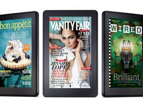 Bright Future Seen for E-Magazines