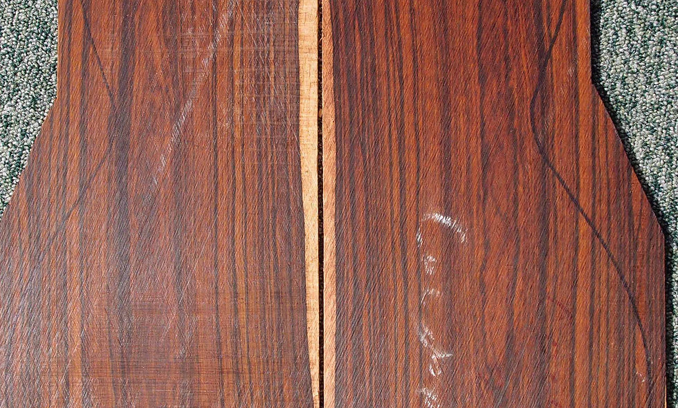 Cocobolo Guitar Backs and Sides