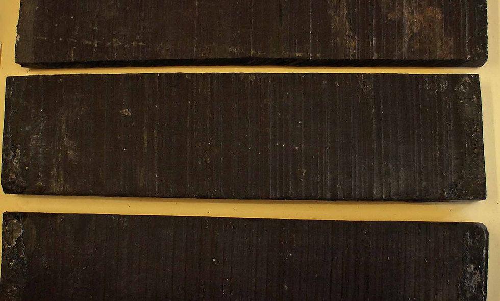 Ebony Bridge Blanks Acoustic/Classical Size