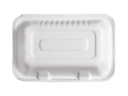 Bagasse 9 x 6 x 3 Clamshell