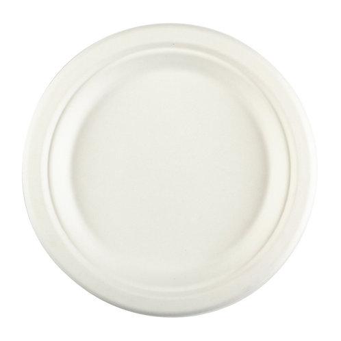 "Bagasse 8.75"" Plate"