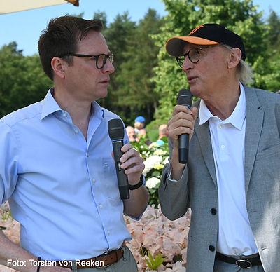 Lars Reckermann im Gespräch mit Otto Waalkes