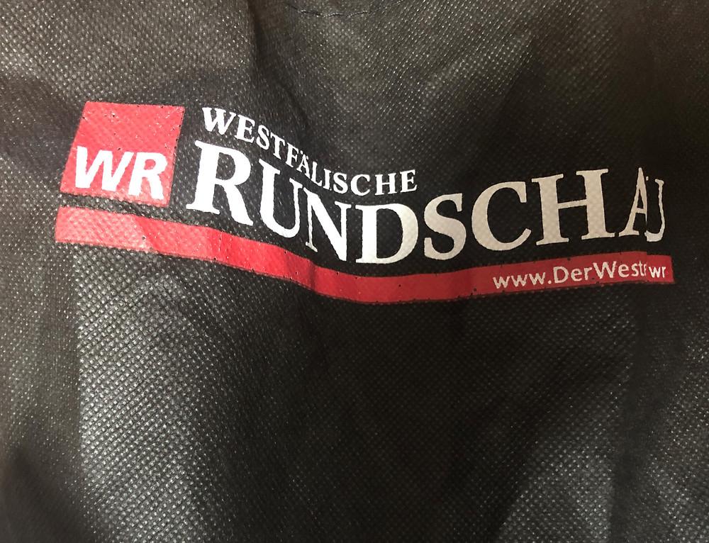 Die Zeitung Westfälische Rundschau wurde Deutschlands erste Zombie-Zeitung genannt.