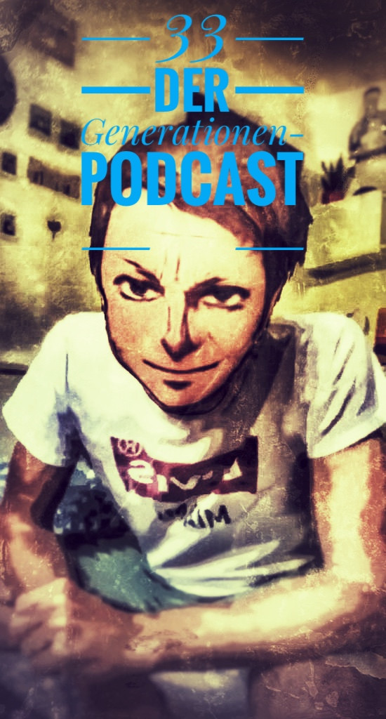So sieht das Coverbild des Podcasts von Lars Reckermann aus. der Podcast heißt 33 Minuten