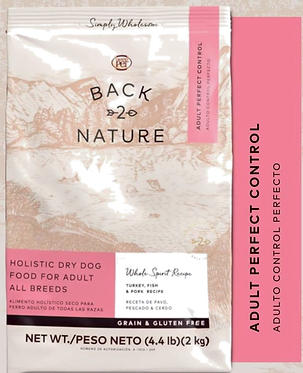 GrandPET Back2Nature Holístico Sin granos Proteína Media Perfect Control