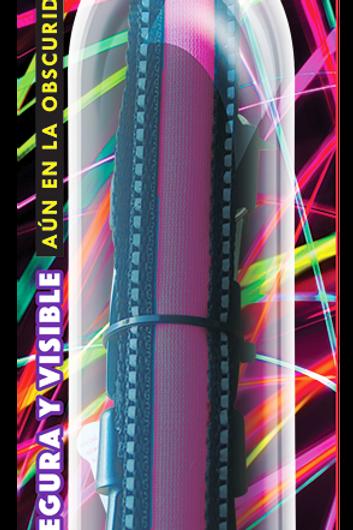 Collar LED Bandas reflejantes