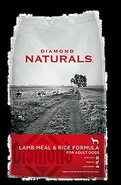 Naturals Lamb Meal & Rice