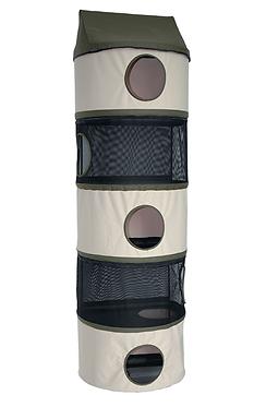Torre colgante para gato