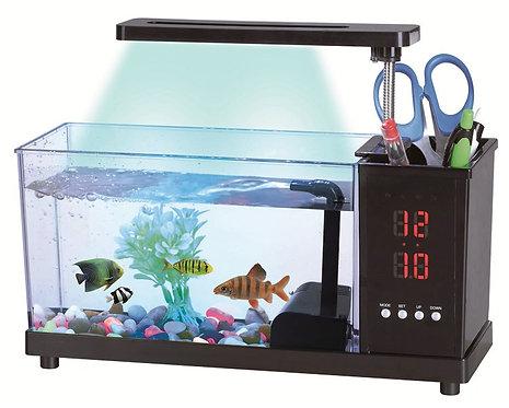 Mini acuario de escritorio 1.6 Lt