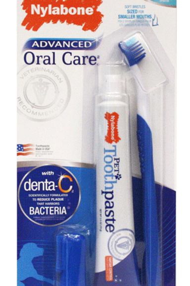 Kit Dental para cachorro con dedal