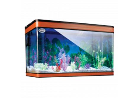Kit de acuario Duralumin con luz LED