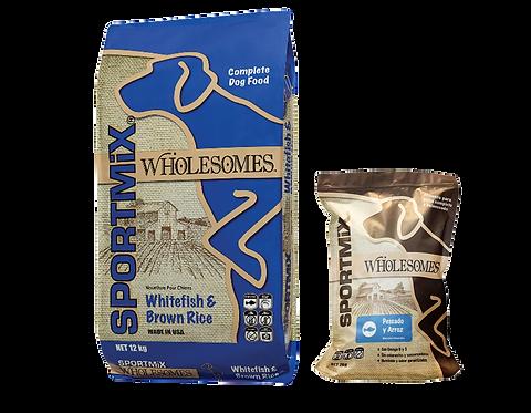Sportmix Wholesomes pescado blanco  y arroz para perro