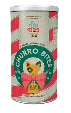Un Dos Treats - Churro Bites Edición Especial Navidad 5.5 Oz