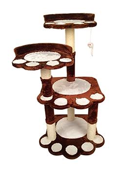 Mueble para gato con huella 100 cm