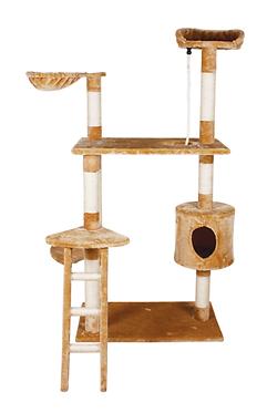 Mueble para gato con Casa y Escalera 158 cm