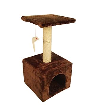 Mueble para gato con juguete 60 cmx